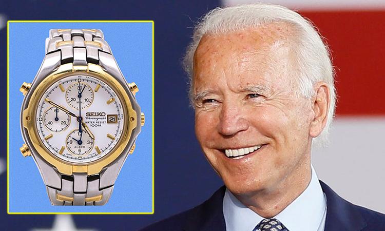 Sở thích đồng hồ của Joe Biden