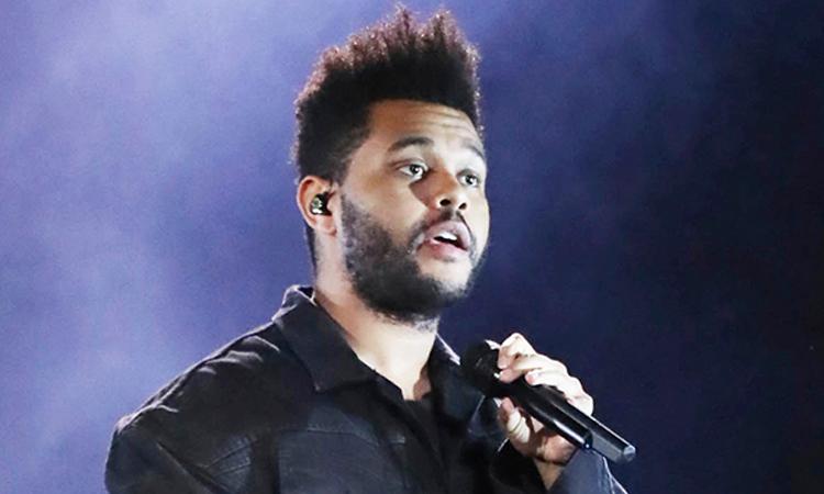 Ca sĩ The Weeknd sẽ biểu diễn chính tại Super Bowl 2021. Ảnh: Star Max.