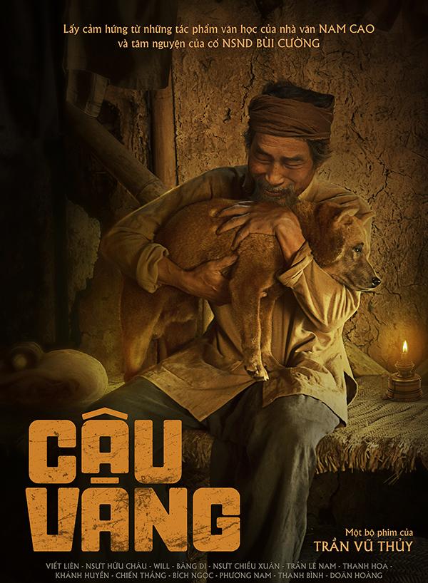 Poster phim Cậu Vàng. Ảnh: Thanh Huyền.
