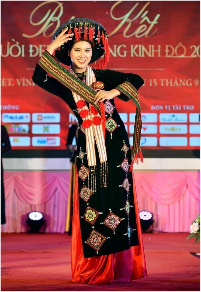 Đặng Phương Nhung (sinh năm 2000) đến từ Tuyên Quang, hiện là sinh viên của Trường đại học Tài chính - Ngân hàng Hà Nội. Năm 2019, cô cùng lúc đoạt hai giải: Hoa khôi Đại học Tài Chính - Ngân hàng Hà Nội và Hoa khôi Kinh đô Việt Nam. Cô nàng đam mê nghệ thuật nên đặc biệt thích nhảy dance, sexy dance hay múa.