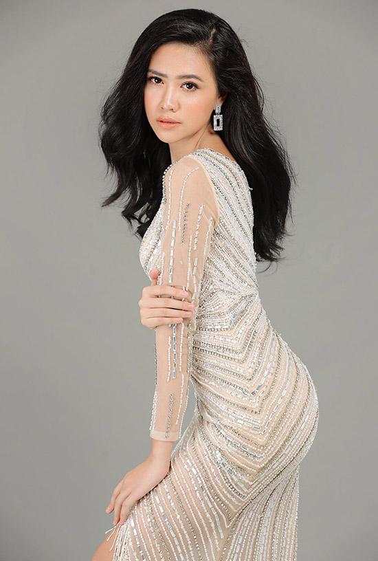 Ánh My là con của chị cả Trang Nhung. Ảnh: Hoa hậu Việt Nam.