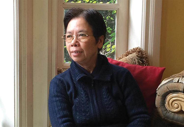 Nhà văn Lê Phương Liên sinh năm 1951 tại Hà Nội. Ảnh: Nhân vật cung cấp.