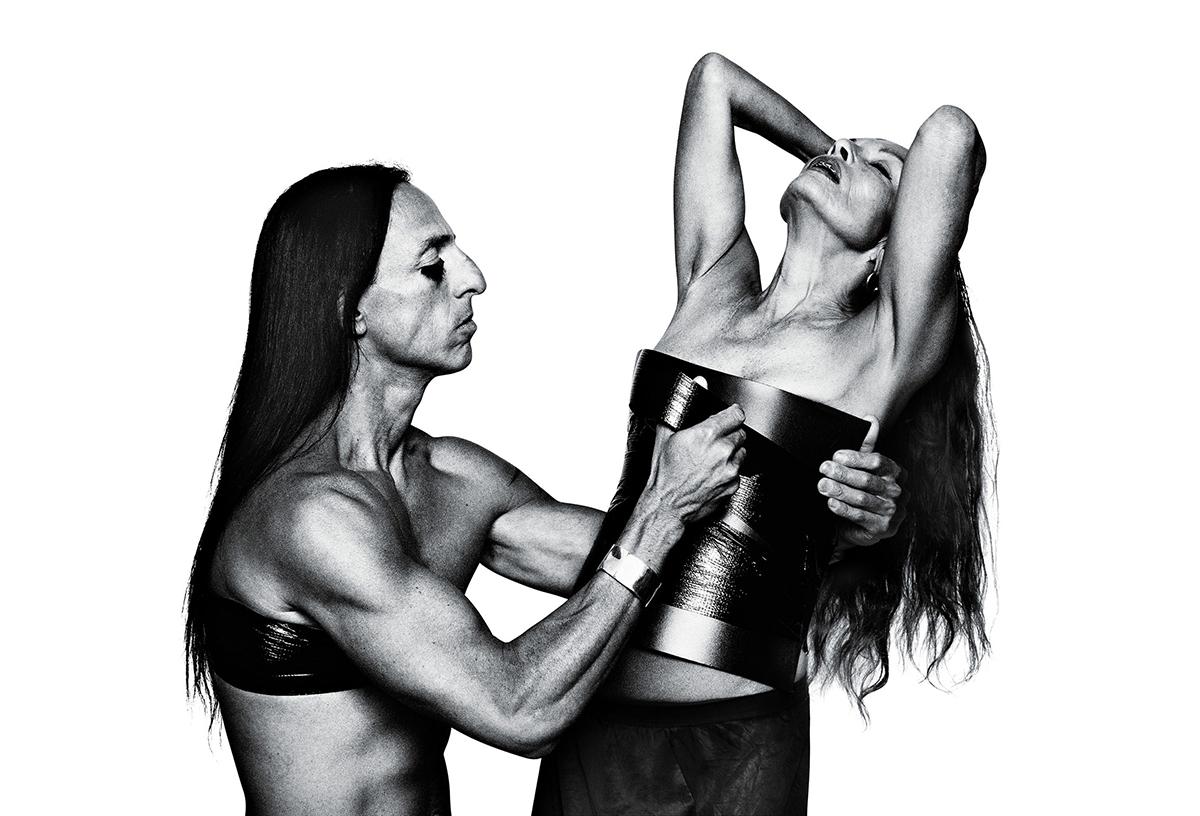 Rick Owens và vợ - Michele Lamy. Ảnh: Rizzoli.