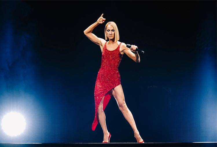 Celine Dion biểu diễn tại Anh hồi tháng 2. Ảnh: NY Times.