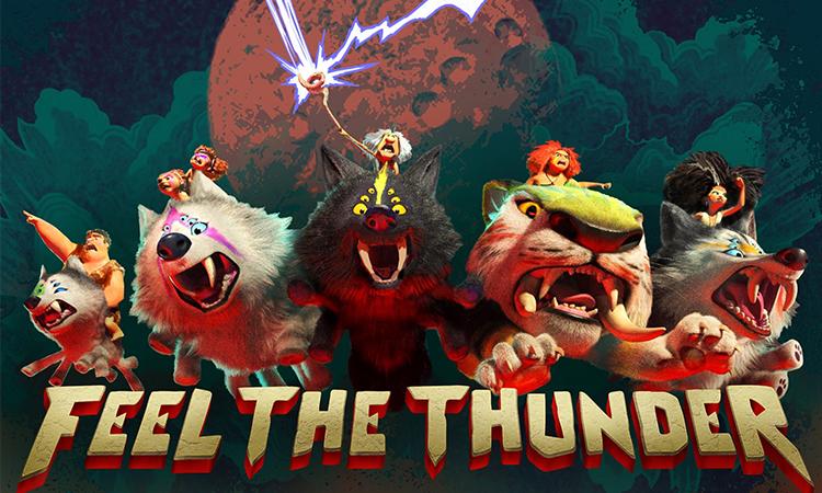 Biệt đội Thunder Sisters do các thành viên nữ của hai gia đình Crood và Betterman lãnh đạo. Ảnh: CGV.