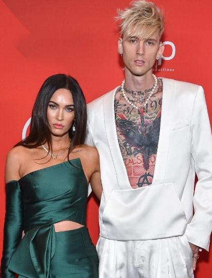 Megan Fox dự lễ trao giải American Music Awards với bạn trai mới