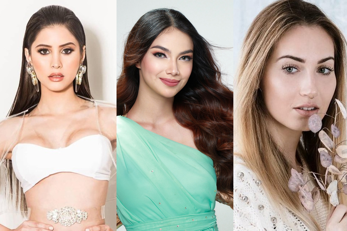 Các Á hậu Miss Earth 2020: