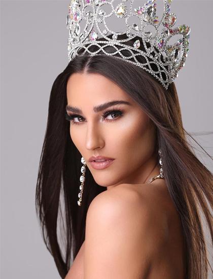 Lindsey Coffey trở thành người đẹp Mỹ đầu tiên đăng quang Hoa hậu Trái đất. Ảnh: Miss Earth.