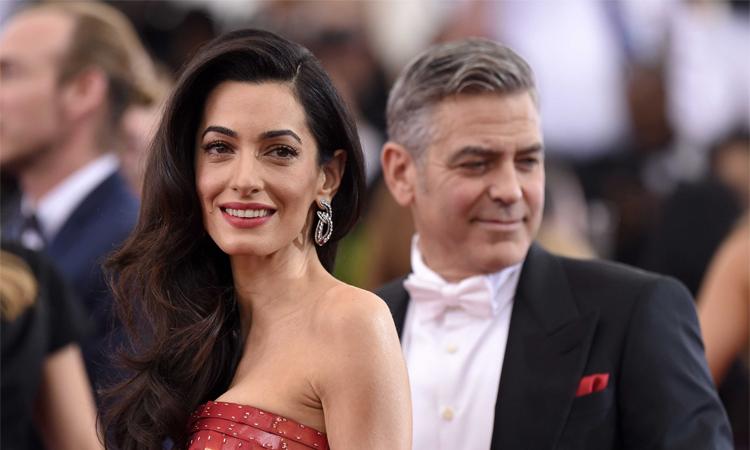 George Clooney và vợ Amal Amlamuddin. Ảnh: Film Magic