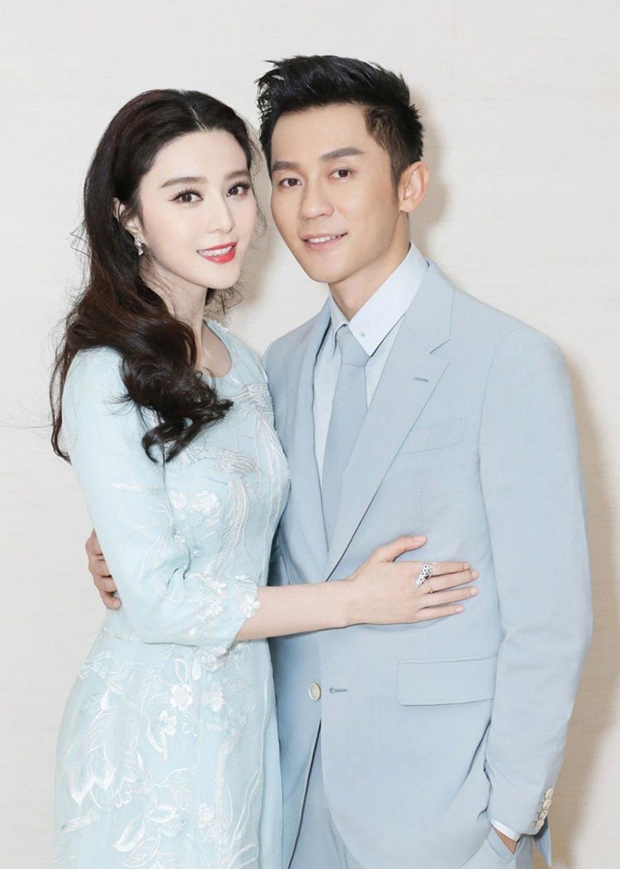 Phạm Băng Băng và Lý Thần từng là cặp tình nhân nổi tiếng của showbiz xứ Trung. Ảnh: Sina.