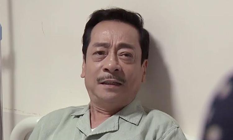 Nghệ sĩ Hoàng Dũng đóng ông Phương phim Trở về giữa yêu thương. Ảnh: VFC.