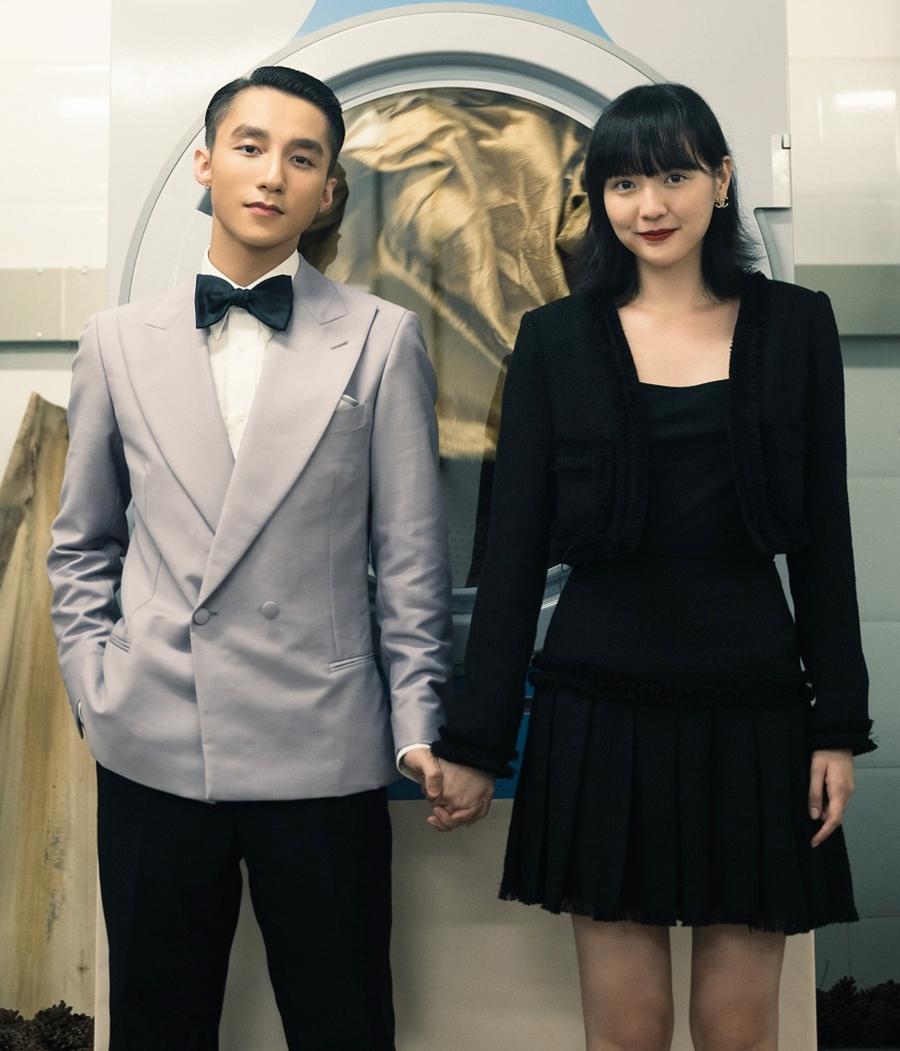 Sơn Tùng M-TP và nữ chính Hải Tú. Ảnh: Sơn Tùng team.