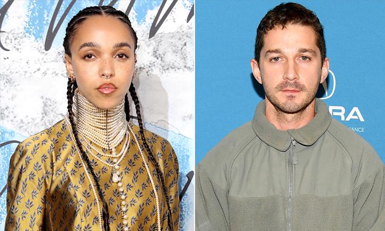 Ca sĩ FKA twigs (trái) kiện Shia LaBeouf bạo hành trong quãng thời gian hai người hẹn hò. Ảnh: EW.
