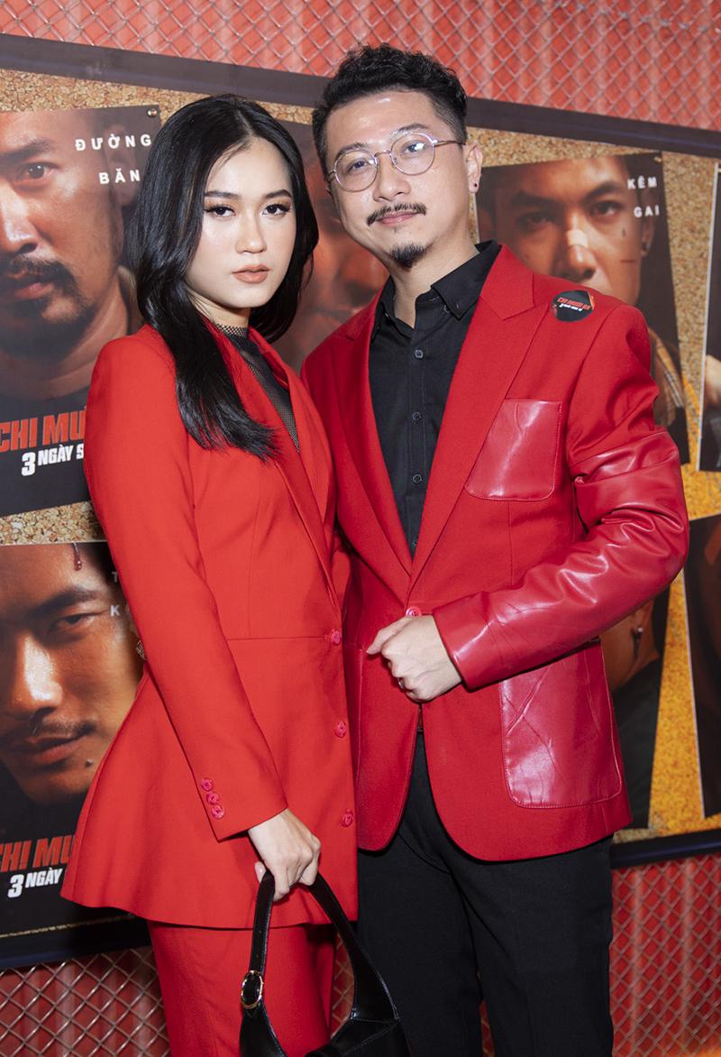 Vợ chồng Hứa Minh Đạt - Lâm Vỹ Dạ.
