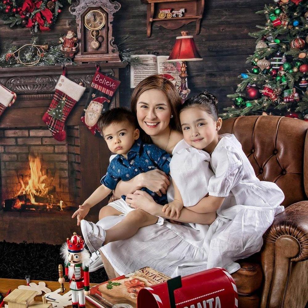 Sao đẹp nhất Philippines nghỉ dưỡng cùng gia đình - 12