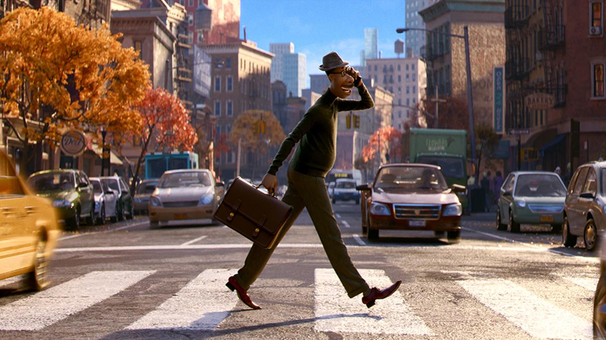 Soul sử dụng nhạc jazz làm chủ đạo, đưa khán giả trải qua những cung bậc cảm xúc đa dạng. Ảnh: Pixar.