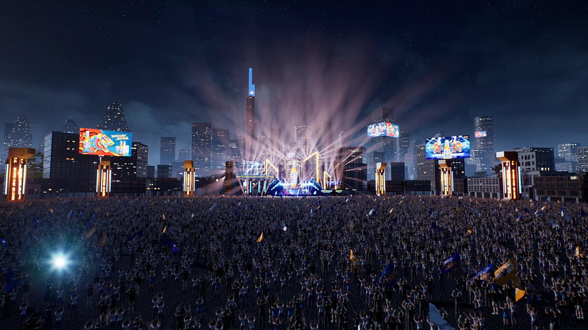 Đại nhạc hội thực tế ảo Tiger Remix dự kiến thu hút hàng chục nghìn người xem.