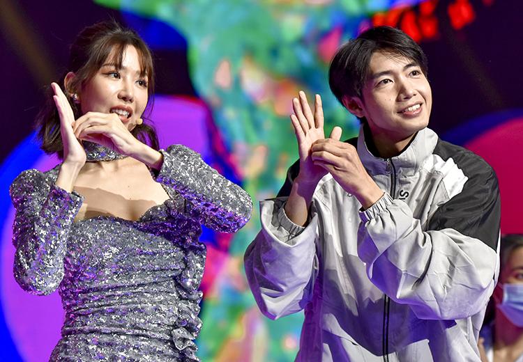 Min, Quang Đăng tái hiện vũ điệu rửa tay
