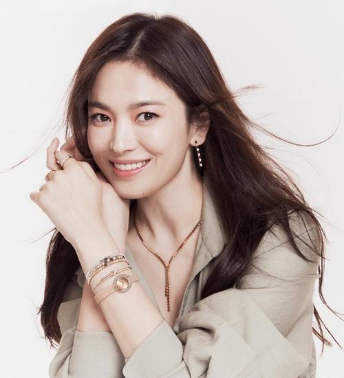 Diễn viên Song Hye Kyo. Ảnh: Chaumet.