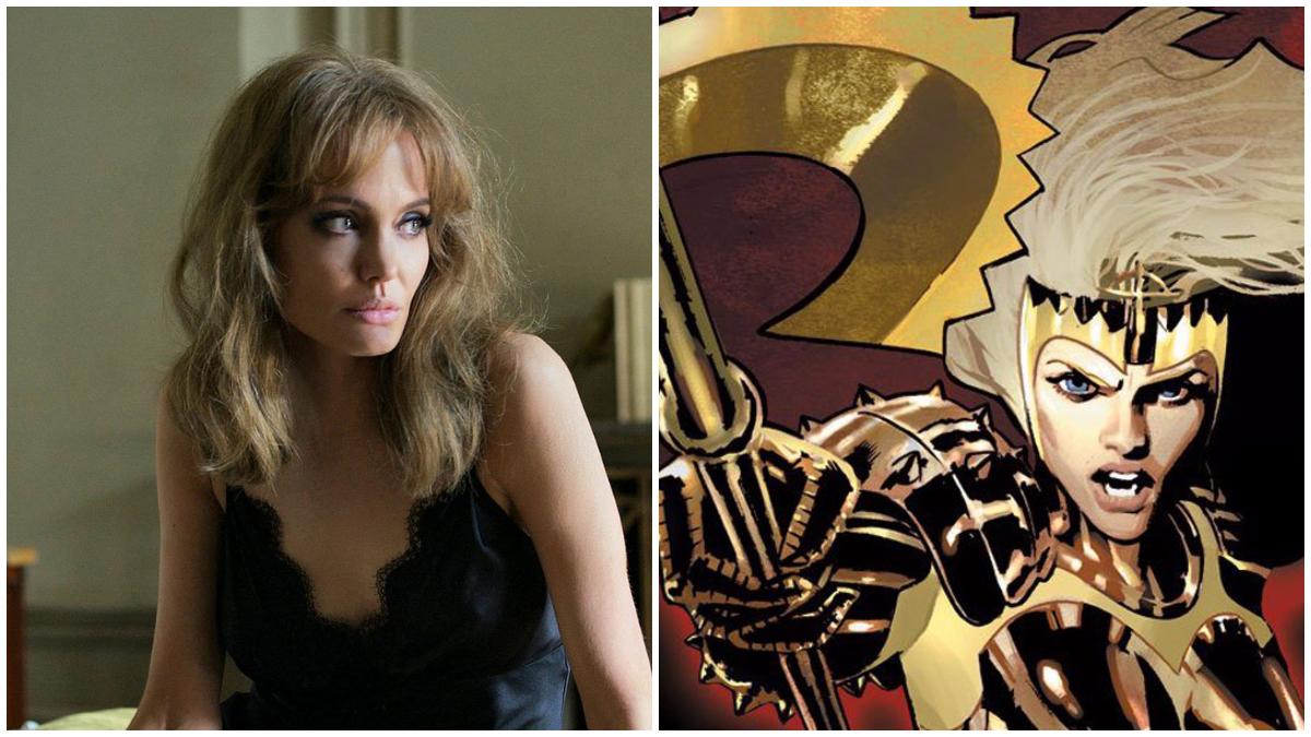 Angelina Jolie trong vai nữ chiến binh Thena. Ảnh: IGN.