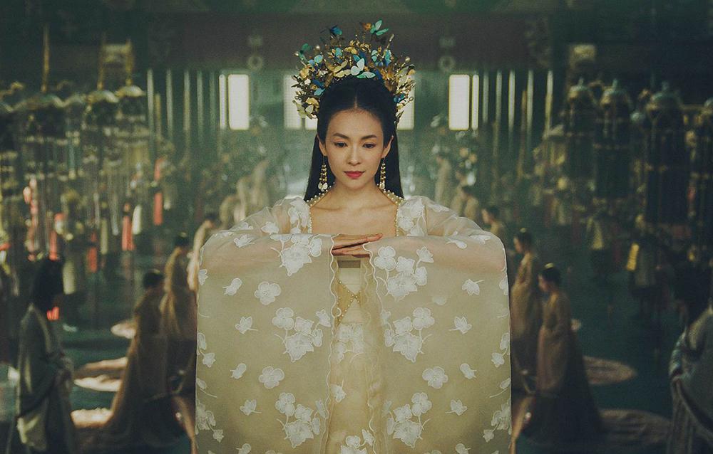 Thượng dương phú được khán giả khen tạo hình, bối cảnh. Ảnh: Youku.