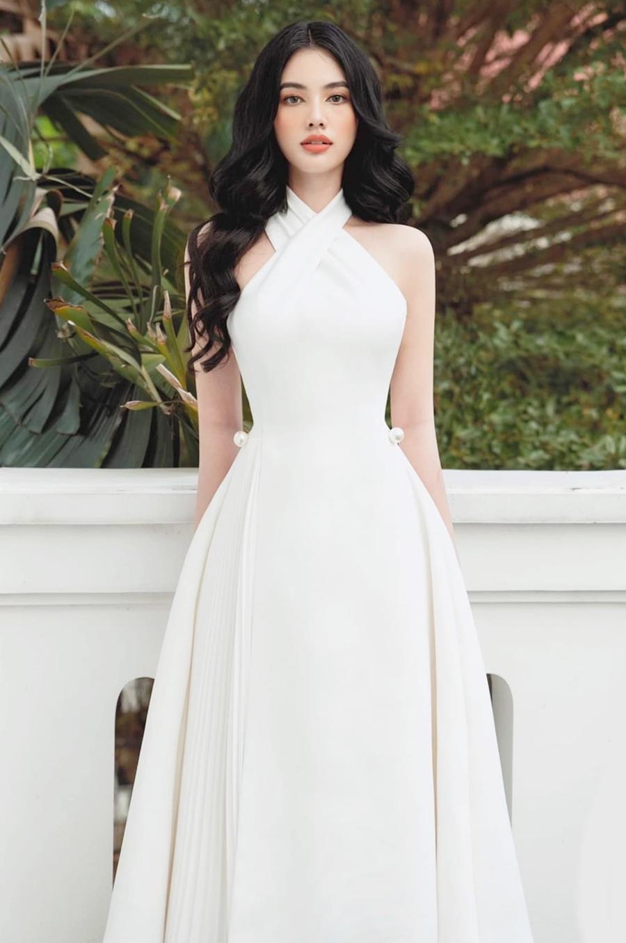 Sau cuộc thi Hoa hậu, Cẩm Đan đắt show thời trang, quảng cáo. Ảnh: Cao Hoàng Việt.