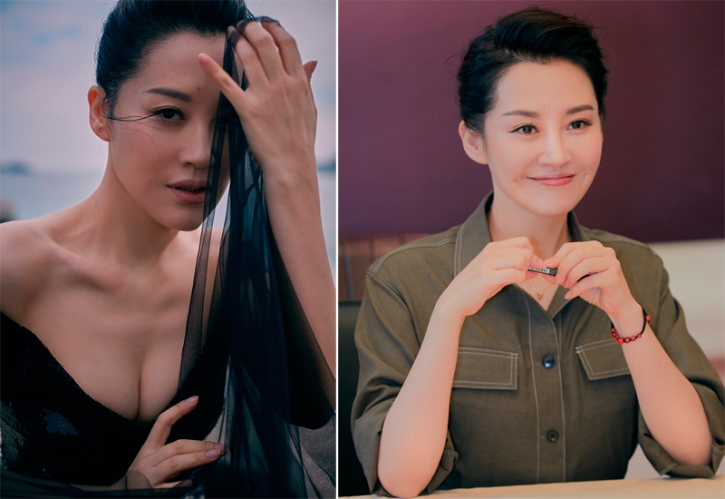 Trang Ifeng nhận xét ngoài 50 tuổi, Hứa Tình vẫn là biểu tượng sắc đẹp của làng giải trí. Cô