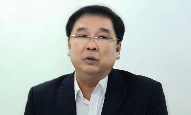Ông Đinh Trung cẩn hiện là giám đốc Trung tâm bảo vệ quyền tác giả âm nhạc Việt Nam. Ảnh: VCPMC.