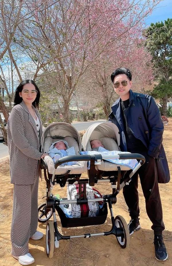 Gia đình Dương Khắc Linh nghỉ dưỡng ở Đà Lạt