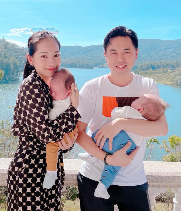 Gia đình Dương Khắc Linh nghỉ dưỡng ở Đà Lạt - 6