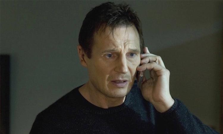 Liam Neeson nổi tiếng với loạt phim hành động Taken. Ảnh: EuropaCorp International.