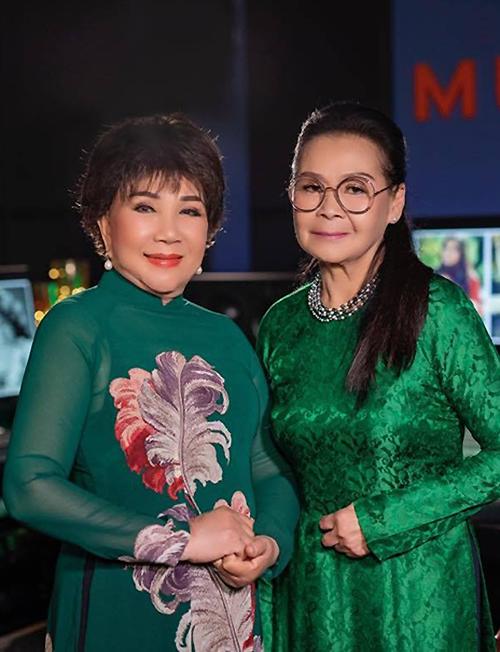 Khánh Ly Lệ Thuối cùng chụp chung vào thang 11/2020