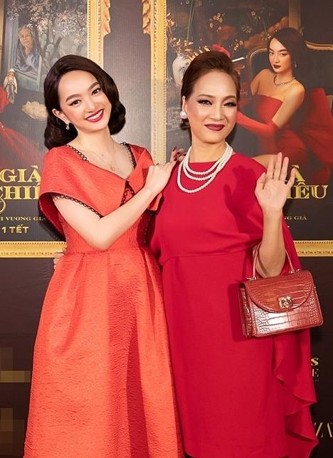 Lê Khanh tái hiện hình ảnh Lý Lệ Hà trong buổi họp báo phim tháng