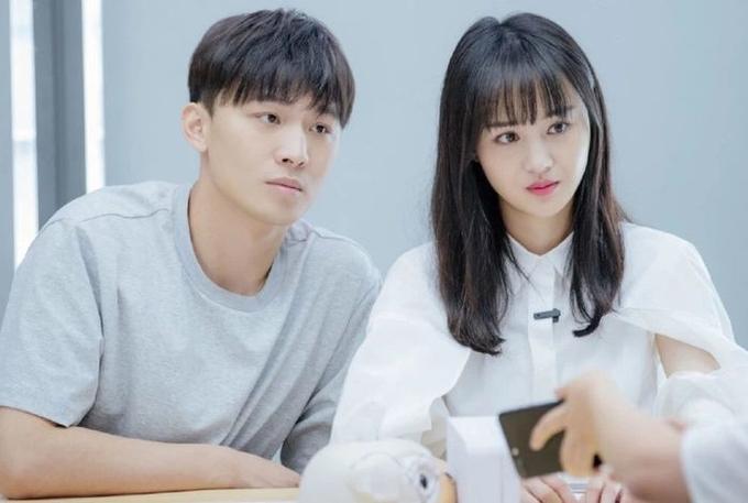 Trịnh Sảng, Trương Hằng ghi hình show truyền hình khi còn yêu nhau. Ảnh: Sohu.