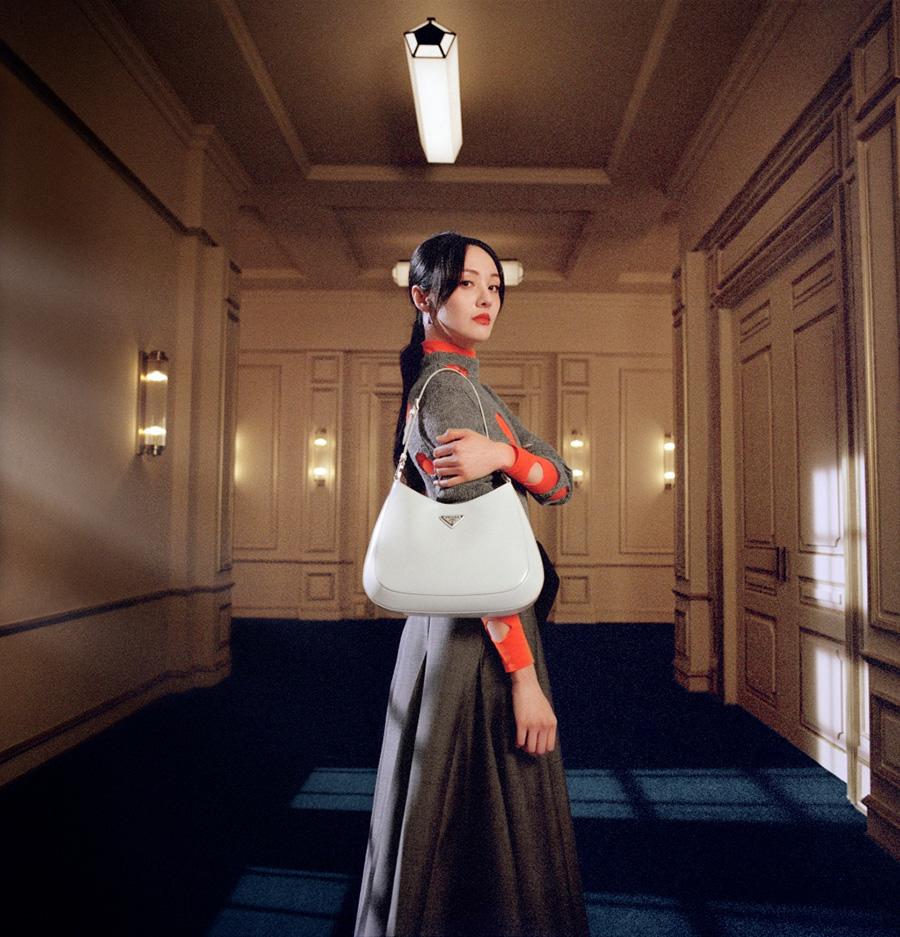 Trịnh Sảng trong chiến dịch quảng bá dành cho Tết âm lịch của Prada. Ảnh: Prada.