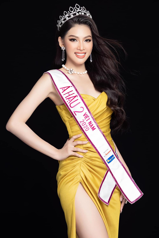 Á hậu Ngọc Thảo là người đẹp đầu tiên lên đường thi nhan sắc quốc tế sau cuộc thi Hoa hậu Việt Nam 2020. Ảnh: Sen Vàng.