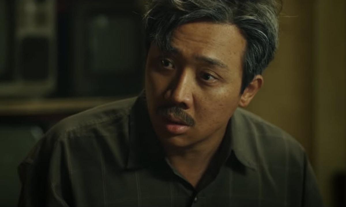 Trấn Thành đóng vai chính Ba Sang trong Bố già bản điện ảnh. Ảnh: Galaxy.
