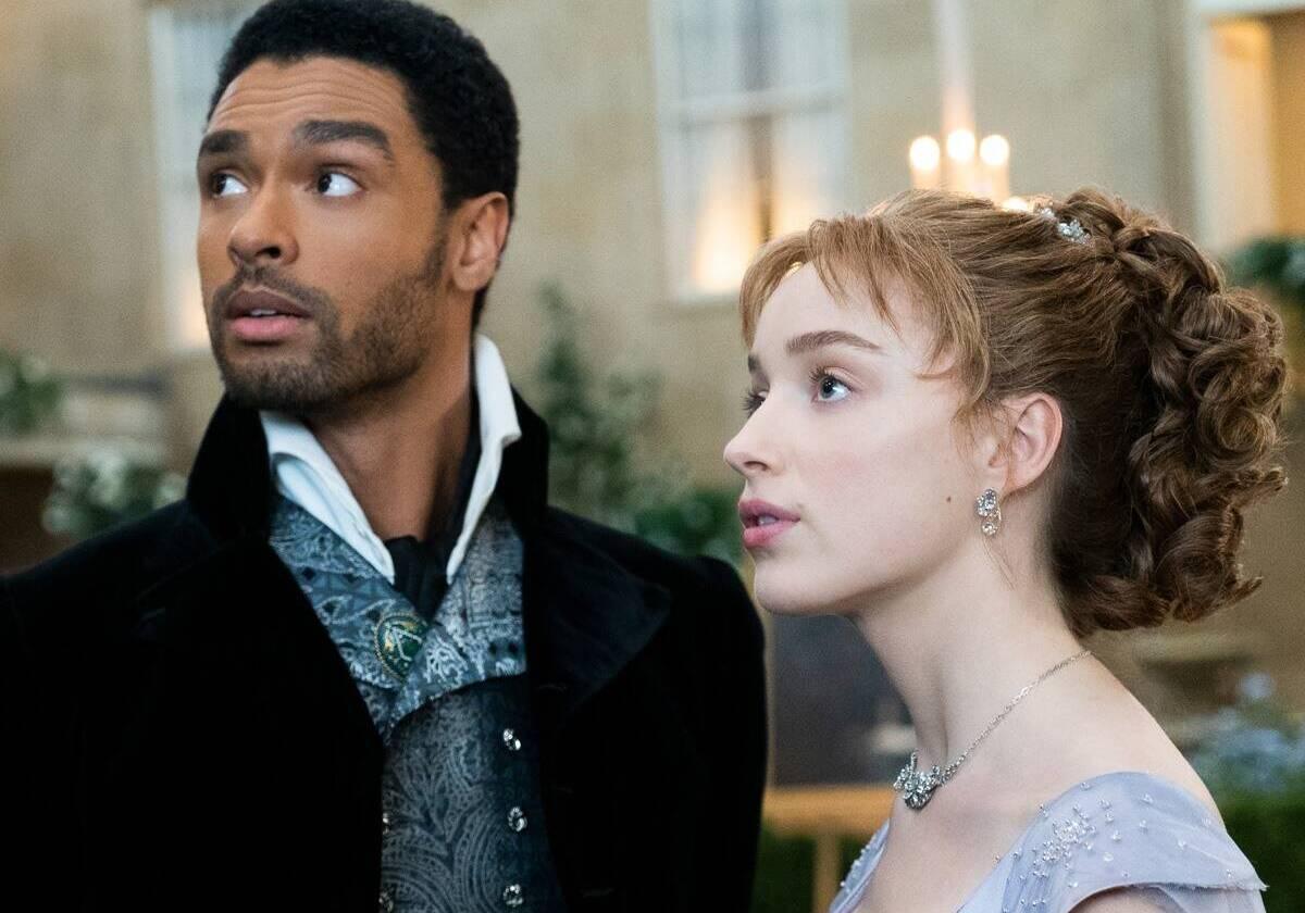 Simon (trái) và Daphne là tuyến chính của phim. Ảnh: Netflix.