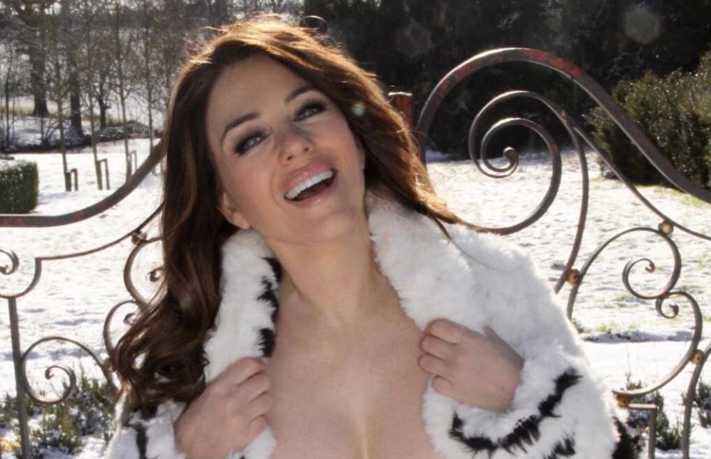 Elizabeth Hurley khoe phong cách sexy trên trang cá nhân. Ảnh: Instagram Elizabeth Hurley.