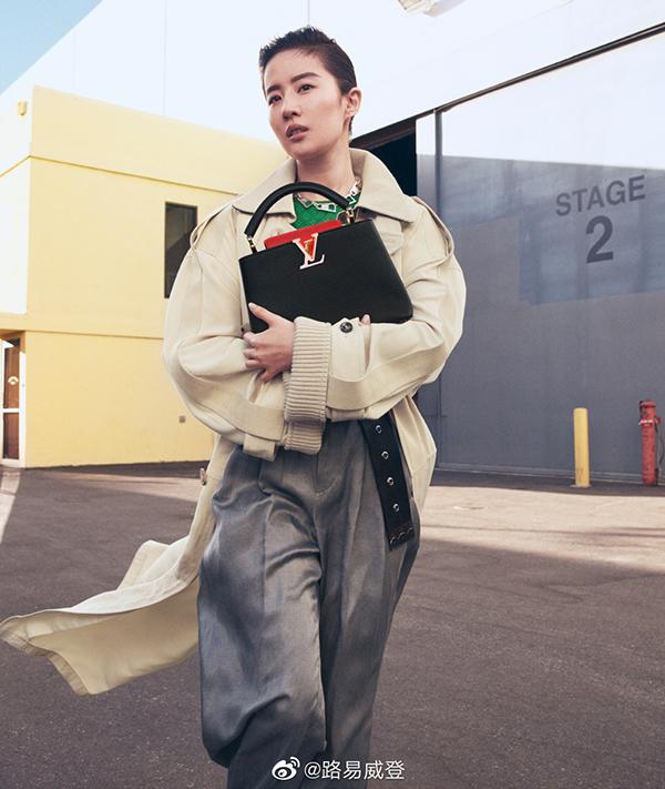 Sắc vóc Lưu Diệc Phi tuổi 34