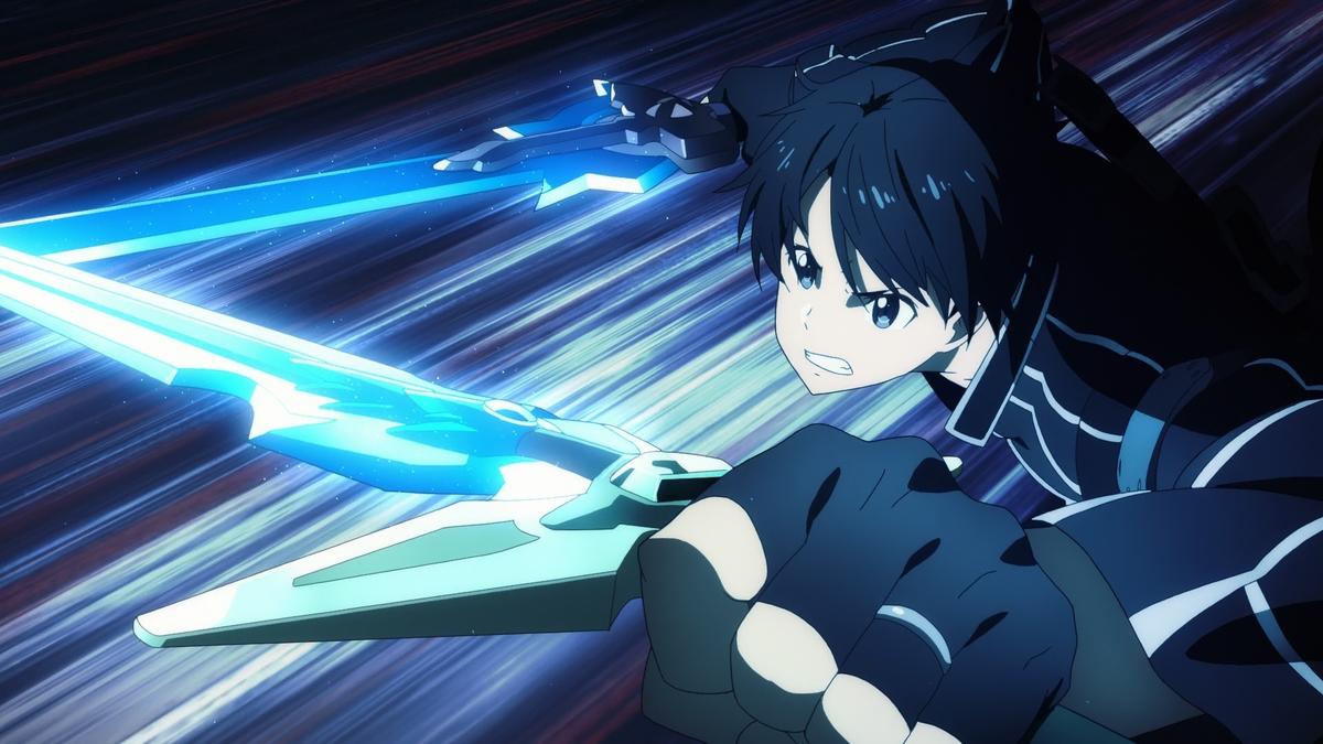Đồ họa sắc nét tăng tính hấp dẫn cho những cảnh chiến đấu trong phim. Ảnh: Aniplex.