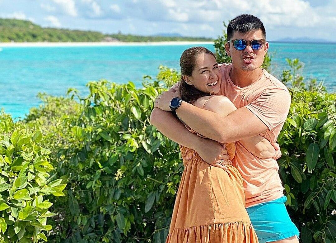 Cuối tháng 12 năm ngoái, gia sao nghỉ dưỡng tại một hòn đảo ở Philippines nhân kỷ niệm sáu năm ngày cưới.