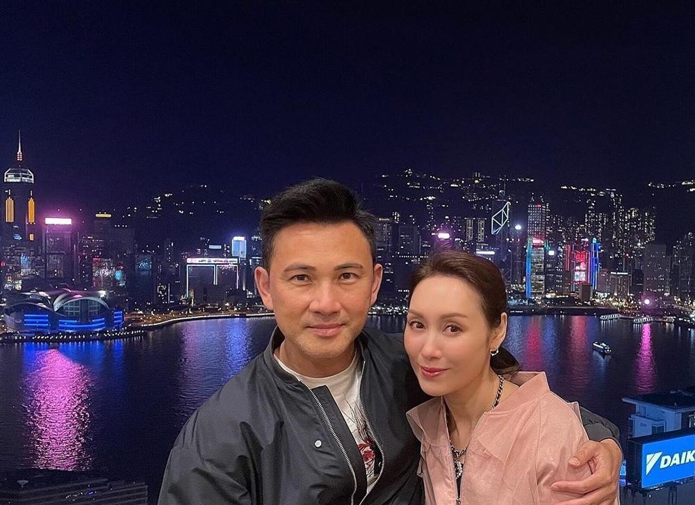 Quách Khả Doanh và chồng - Lâm Văn Long -