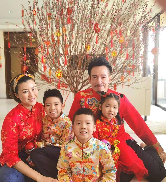 Theo On, gia đình sao TVB Trần Hào - Trần Nhân Mỹ hạn chế đi chúc Tết vì dịch. Ảnh: Instagram/Chenhao.