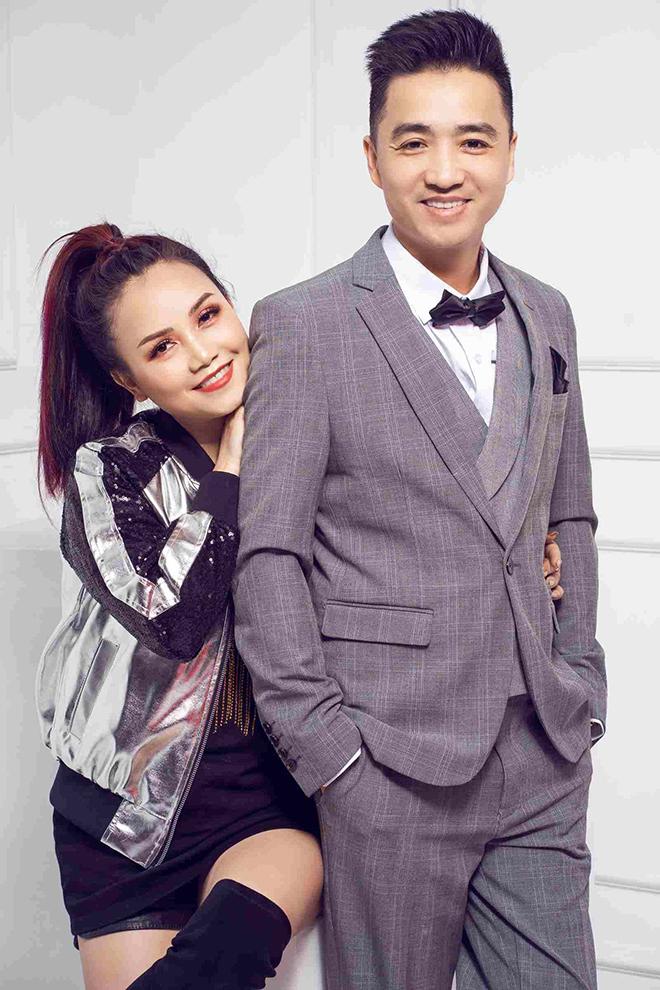 Hoàng Yến và người chồng thứ tư - anh Thắng Cao - khi còn bên nhau. Ảnh: Facebook Dao Hoang Yen.
