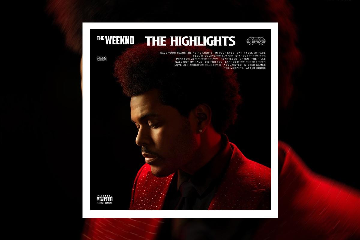 Bìa album The highlights. Ảnh: Republic Records/Universal Music Group.