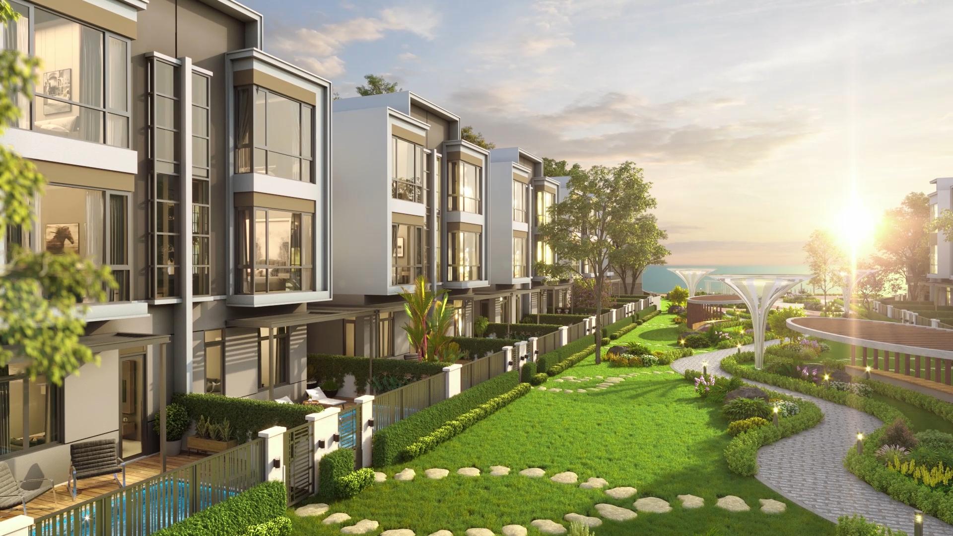 Aqua City thỏa mãn tiêu chí tìm kiếm không gian sống gần gũi thiên nhiên, đầy đủ tiện ích của gia đình Thúy Hạnh - Minh Khang.