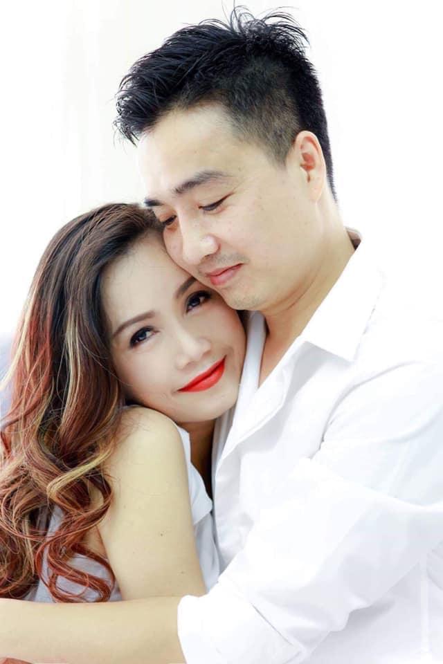 Hoàng Yến và người chồng thứ tư - anh Cao Thắng - khi còn bên nhau. Ảnh: Facebook Thang Cao.