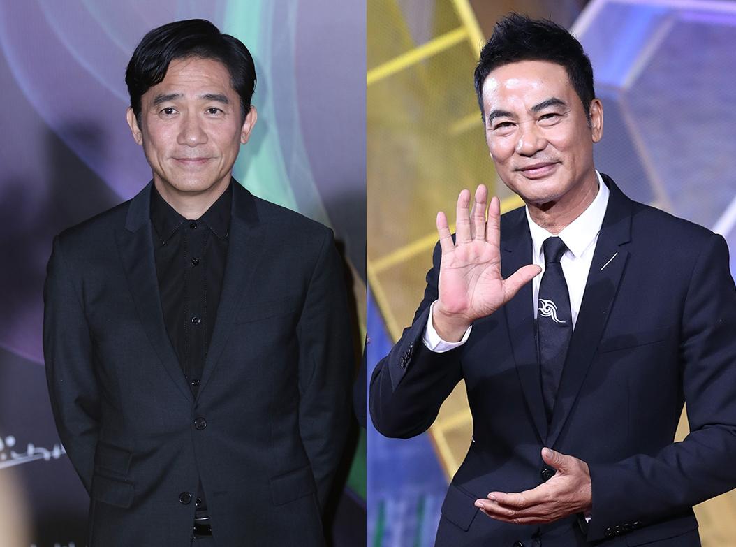 Lương Triều Vỹ (trái) và Nhậm Đạt Hoa. Ảnh: HK01.