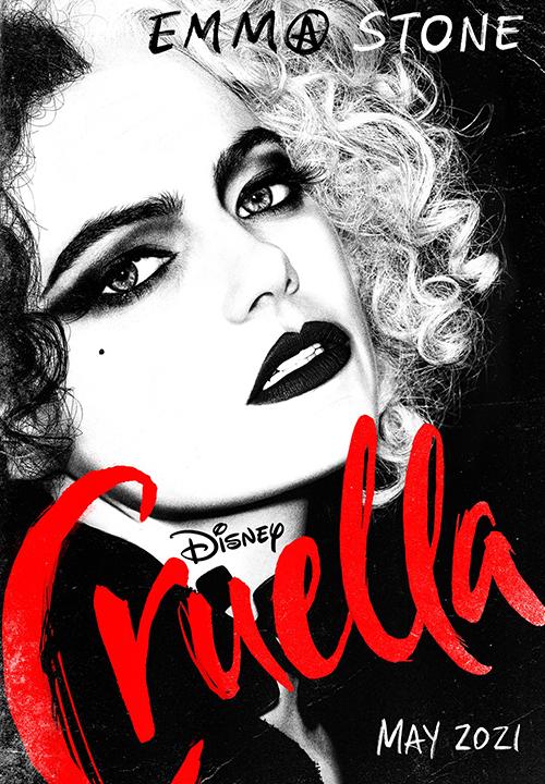 Poster Cruella. Ảnh: Disney.